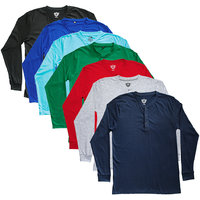 TSX Men's Multicolor Round Neck T-Shirt (Pack of 7)