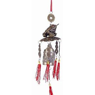 Chan Chu Feng Shui money frog bell for goodluck and prosperity , FENG SHUI BELL