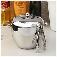 Designer Apple Ice Bucket With Tong