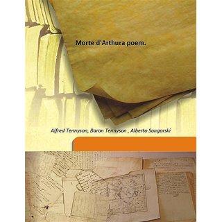 Morte d'Arthura poem. 1912 [Harcover]