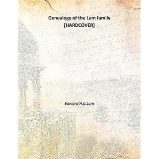 Genealogy of the Lum family 1927