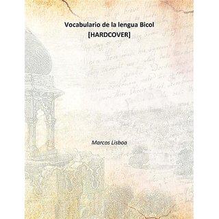 Vocabulario de la lengua Bicol 1865