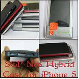 SPIGEN SGP Neo Hybrid Back SILVER Case Cover APPLE IPhone 5/5S Iphone5