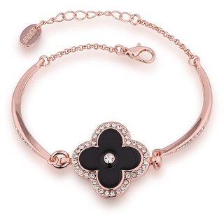 Aaishwarya Dazzle In Black Bracelet(AA0115B054)