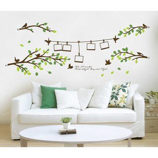 Asmi Collections Wall Stickers Wall Stickers Photo Tree