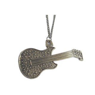 guitar pendant with chain
