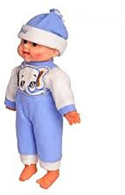 Tickles Blue Laughing Baby Stuffed Soft Plush Toy