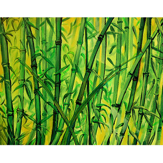 Handmade Painting-Bamboos