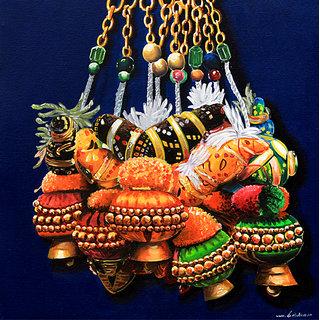 Handmade Painting-Bells