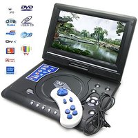 "9.5"" PORTABLE  LCD DVD PLAYER WITH BUILT IN BATTERY"