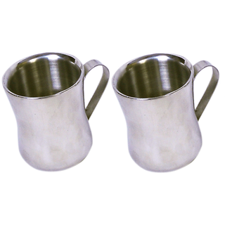 Set of 2 Double Wall Dhol Cups