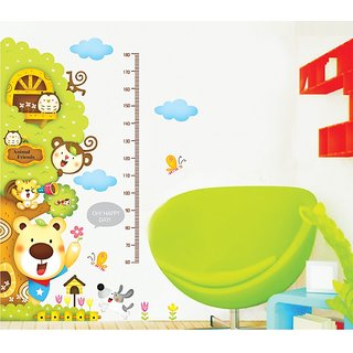Asmi Collections Wall Stickers Wall Stickers Big Height chart for kids room