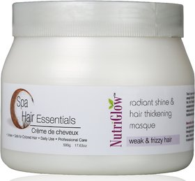 Nutriglow Hair Spa Cream for Weak  frizzy Hair