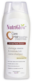 Nutriglow Damage Repair Shampoo - For Dry and damaged hair