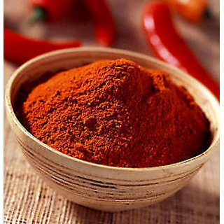 100 Grams Kashmiri Red Chilly Powder - BEST Quality & Machine Cleaned Spices.