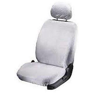 Autofurnish Car Seat Covers Towel (grey) - Complete Set For Tata Indigo Cs.