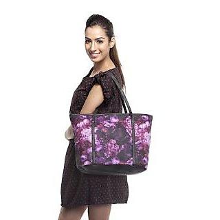 Cappuccino Hand Bag (Purple)