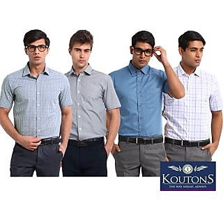 Koutons Shirts Pack of 4 (Assorted)