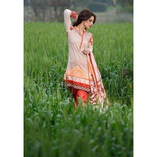 438f8a96f9 Yellowmist Pakistani Purple Embroidered Lawn With Silk Dupatta By Gohar  (Unstitched)