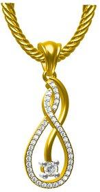 Sakshi Jewels 2.27 Gram 18K Gold 0.22 Carat VVS-FG Diamond Pendant.