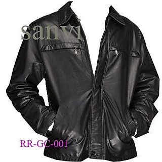 Men Leather Jacket Prices In India Shopclues Online Shopping Store