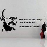 Mahatma Gandhi Wall Decal-Small