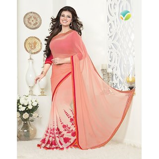 VinayTM Ayesha Takia 16267 Saree with Blouse Piece Peach