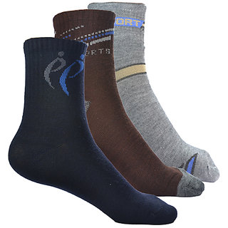 Comfort Zone Ankle Socks 3 Pair - ASC0111