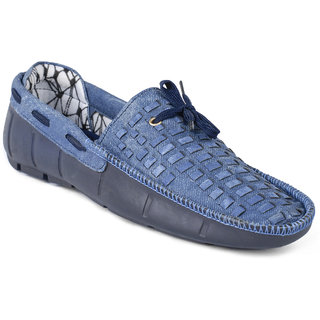 6e31128accc Foot n Style Mens Blue Slip on Casual Shoes