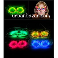 Neon Glow Mask - Perfect Product For This New Year Party Or Any Other Party