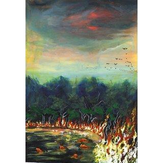 Burning Forest