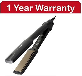 Kemei Professional KM-329 Hair Straightener  (Black) -- 1 Year Warranty