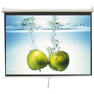 6x4 INLIGHT BRAND AUTOLOCK PROJECTOR SCREEN(IMPORTED GLASS BEADED FABRIC)A+++++
