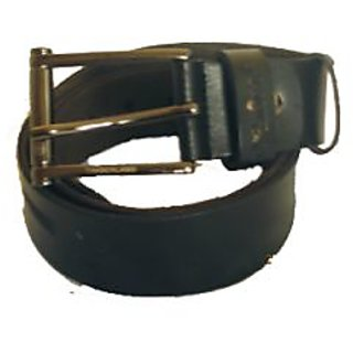 Timberland Black With Design Casual Leather Belt
