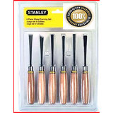 Heavy Duty Wood Carving Set Chisel 6-Piece Set