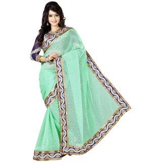 Kashish Lifestyle High Embroidered Fashion Party Saree SFMAMTA7010