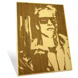 Engrave Arnold Schwarzenegger Plaque Epma003as1