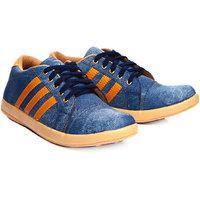 Shoe Island Blue Casual Shoes