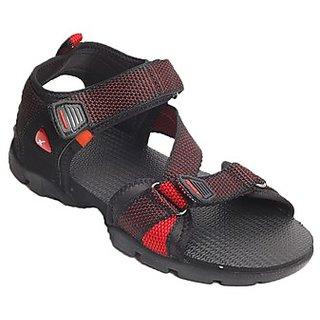 Sparx Mens Floater & Sandals Red