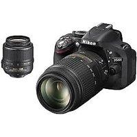 Nikon D3200 18-55 & 55-200VR Combo Lens Kit DSLR Camera