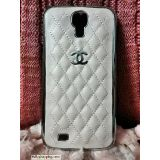 Deluxe Chanel Case Back Cover For SAMSUNG Galaxy S4 I9500 PINK