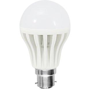 Combo 4X3W And 5W Led Bulb  (5Pcs )