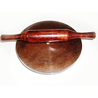 Best Quality Wooden Chakla Balen with Rolling Pin