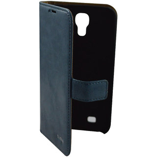 Flip Case For S 4 For Samsung I 9500/ Galaxy S4 / Blue Color