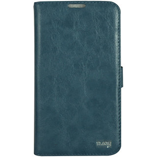 Flip Case For N 7100 / Galaxy Note 2 / Blue Color