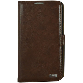 Flip Case For N 7100 / Galaxy Note 2 / Brown Color