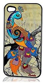 Peacock Cream Iphone 4 N 4S Cover