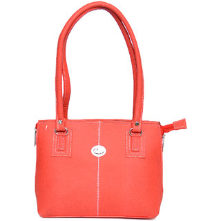 Trendy Collectionz Red Fancy Handbag