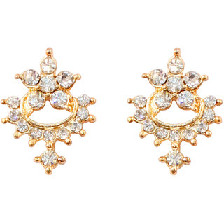 Touchstone Austrian Diamonds Earring : Fgetl072-01a--y