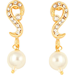 Touchstone Gold Plated Beautiful Earring